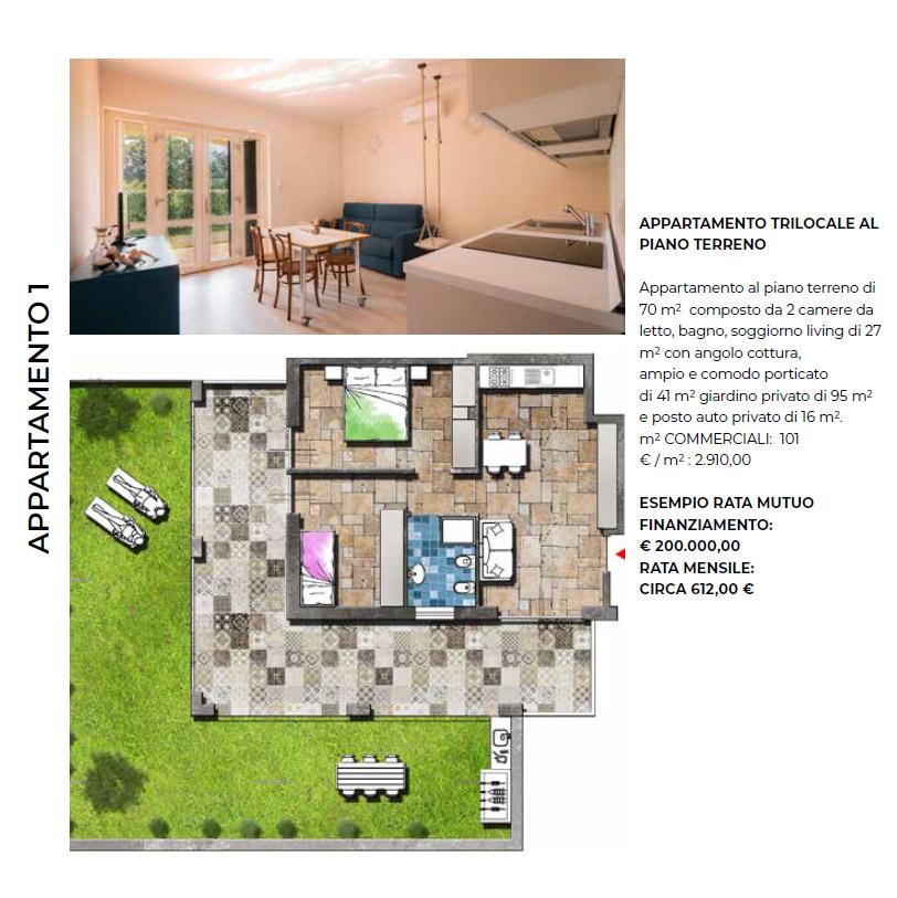 Appartamento trilocale Villa Limoni - Pietra Ligure