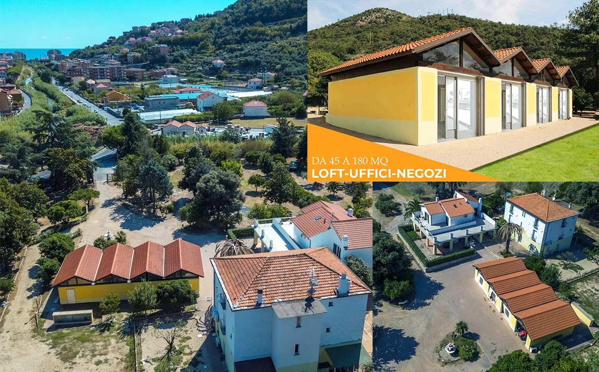 Locali commerciali Pietra Ligure Villa Chinotti